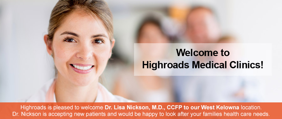 Welcome to Highroads Medical Clinics!